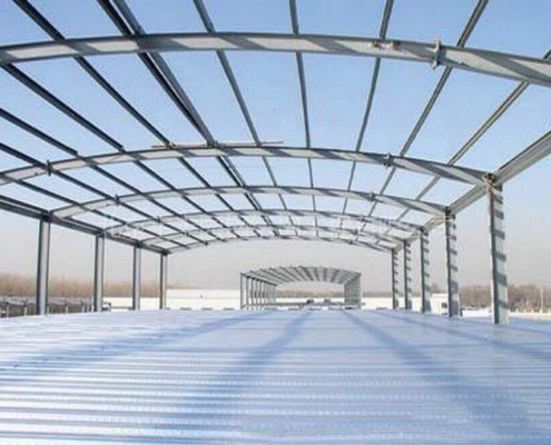 Çelik Tonoz Çatı Yapımı