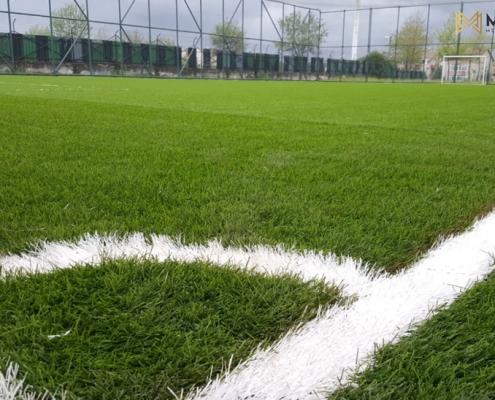 55mm sentetik çim monofilament hali saha zemini